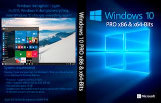Baixar Windows 10 PRO x86 e x64-Bits PT-BR Versão Final – ISO Microsoft Download – MEGA