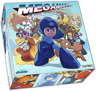Megaman el juego de tablero