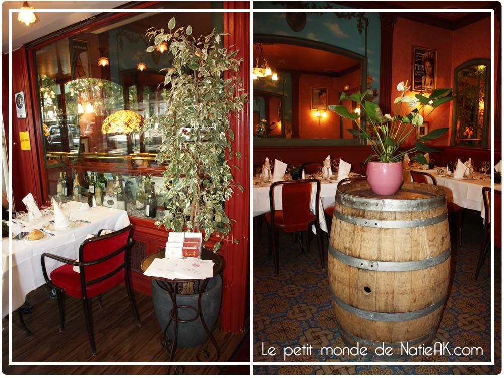 décoration Au Petit Marguery Restaurant parisien