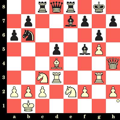 Les Blancs jouent et matent en 4 coups - Evgeni Vasiukov vs James Howell, Iaroslavl, 1990