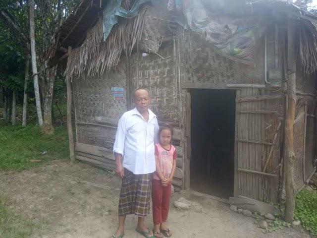 Bertahan Hidup di Rumah Tak Layak Huni  Warga Langkahan Butuh Bantuan Pemerintah Aceh
