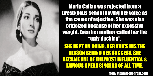 Success Stories From Famous People Who Failed Before Succeeding: Maria Callas