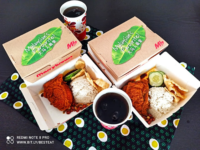 Marrybrown Nasi Lemak Buy 1 Free 1 Deal Only at Shopee