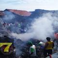 Breaking News:  Sebuah Rumah Ludes Terbakar Beserta 9 Ekor Kambing dan 1 Unit Sepeda Motor di Kragilan