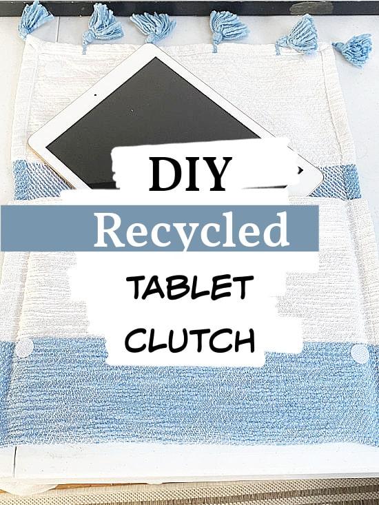 ipad clutch with overlay