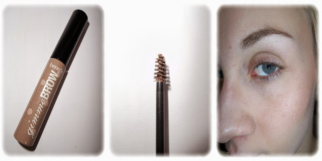 Swatch Mascara à Sourcils Gimme Brow Teinte Light/Medium - benefit