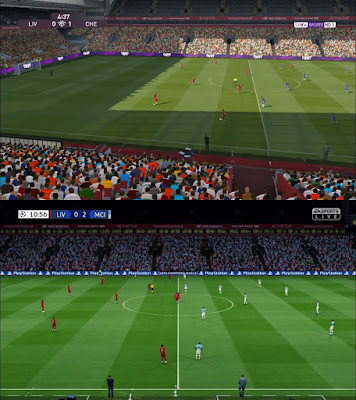 PES 2017 YRF Pitch for AZ Stadiumpack