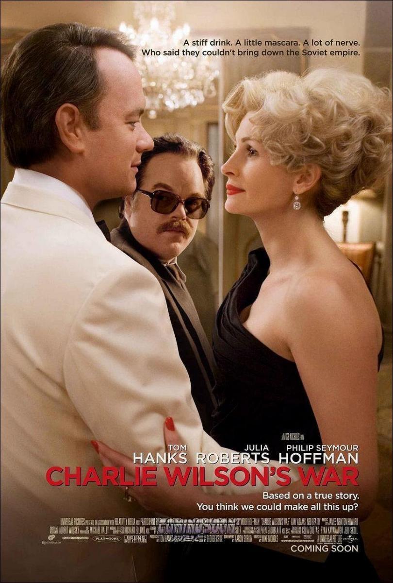 Download Charlie Wilson War (2007) Full Movie in Hindi Dual Audio BluRay 480p [400MB]