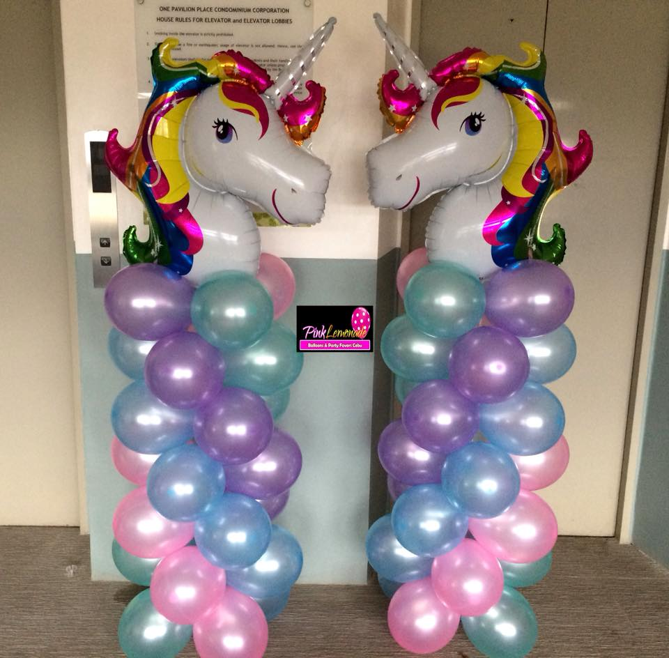 Pink Lemonade Balloons And Party Favors Cebu: Unicorn