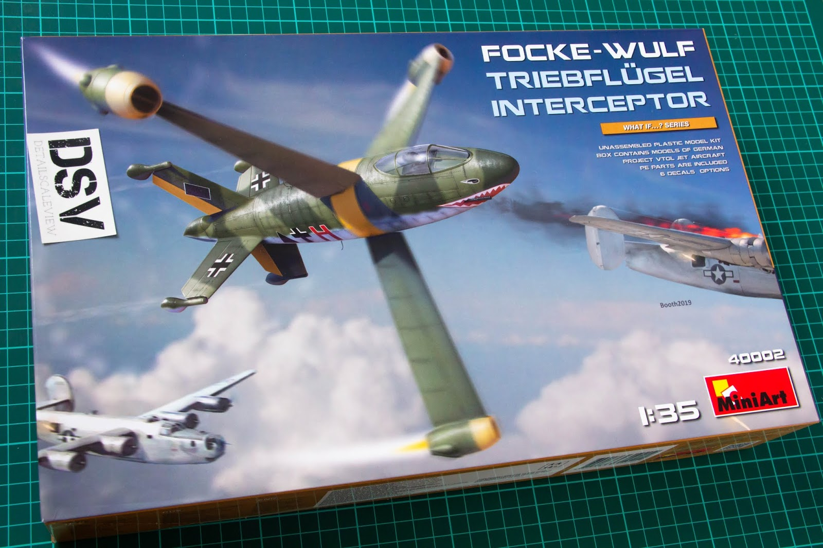 Neu Miniart 40002-1//35 Focke-Wulf Triebflügel Interceptor