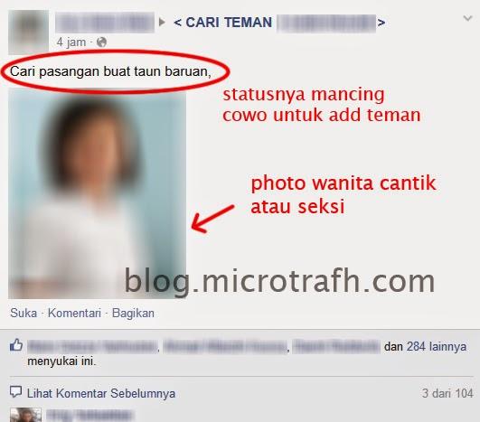 fake, palsu, hode, facebook, kloningan, wanita, pria, akun, status, profil