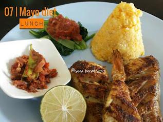 menu diet mayo tanpa daging dan ayam