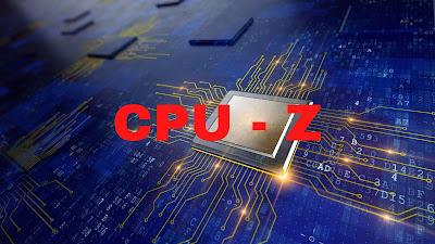 CPU Z software wajib di instal rahun 2020