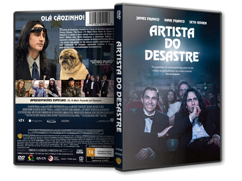 Capa DVD Artista do Desastre [Custom]