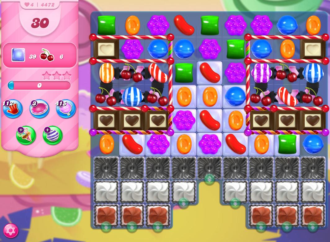 Candy Crush Saga level 4472
