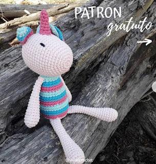 PATRON GRATIS UNICORNIO AMIGURUMI 44646
