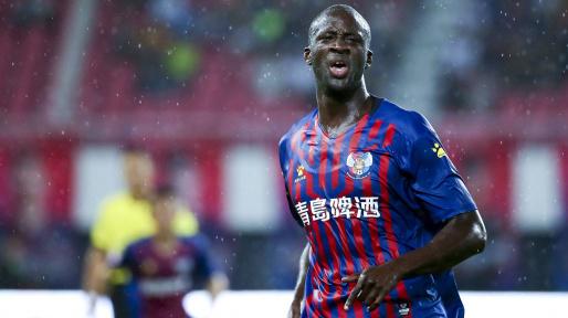 Former Barcelona midfielder Yaya Toure