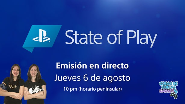 State of Play agosto 2020 chicas gamers
