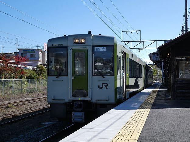 【ダイヤ改正で運行終了!】小海線 八ケ岳高原列車1号 野辺山行き キハ110形