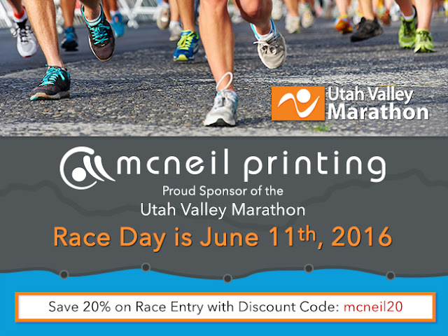 Utah Valley Marathon Registration Discount