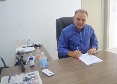 Prefeitura investe em saneamento básico na área rural com recurso Fehidro