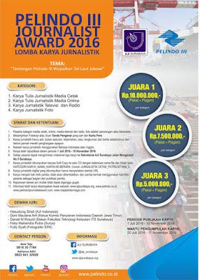 Pelindo III Journalist Award 2016