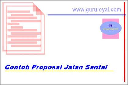 Download Contoh Proposal Jalan Santai Yang Benar