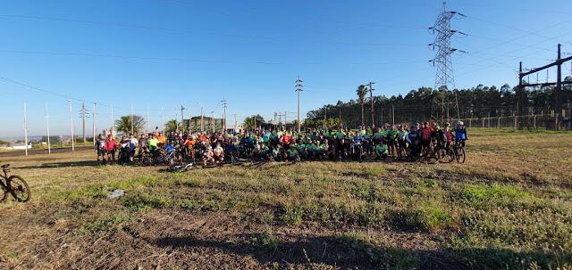 Ciclistas de Ourinhos promovem pedal solidário à Casa Arco Íris