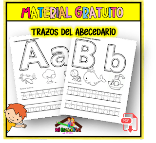trazos del abecedario