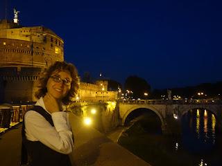 guia brasileira roma castel santangelo - Roma de noite