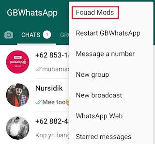 choose fouad mods menu