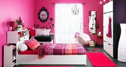 Ideias de decora o inspira o para quartos jovens - Slaapkamer van een meisje ...