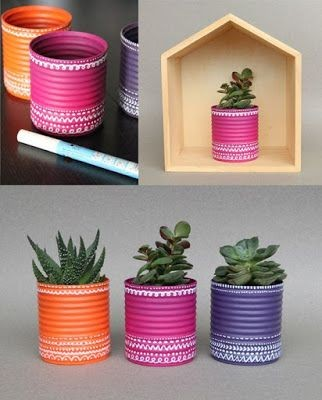 Ideias de decoração com reciclagem
