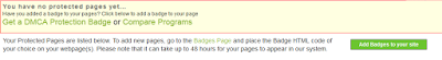 Cara Daftarkan Blog ke DMCA