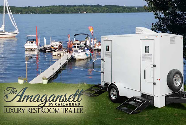 The Amagansett Luxury Restroom Trailer and New York Summers