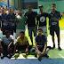 Secretário de Esportes Alexandre Almeida participa da estreia do time de futsal de Cuitegi no Ginásio Zenobão em Guarabira.