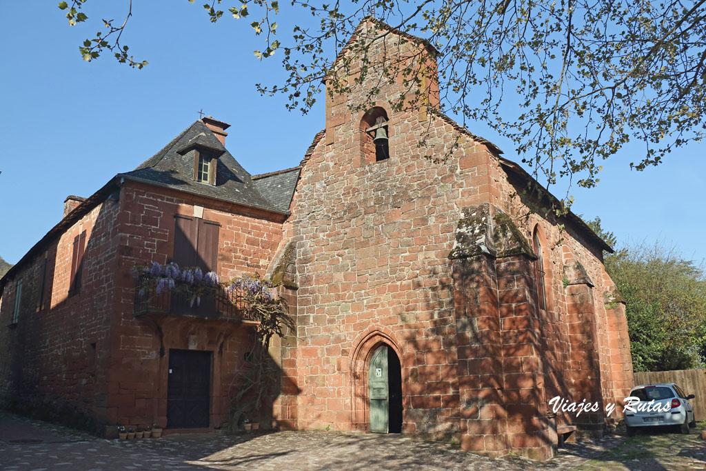 Capilla de los Penitentes, Collonges la Rouge, Francia