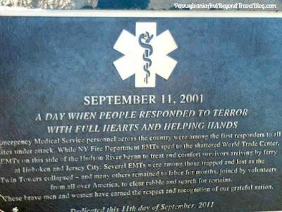 Eagle Rock Reservation Park in West Orange, New Jersey - September 11th Memorial