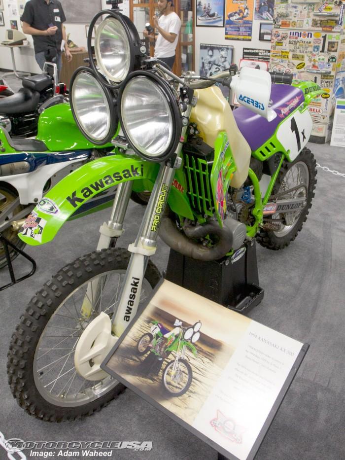 Kawasaki KX500 Baja Night Racer