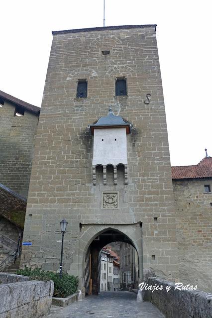Porte de Berne, Friburgo