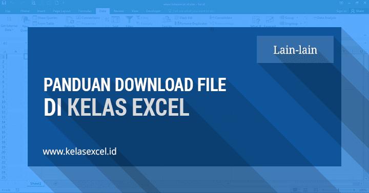 Cara Download Rumus Microsoft Excel - Kelas Excel