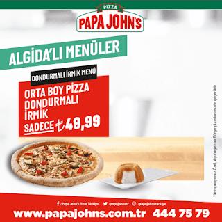 papa john's menü fiyat listesi kampanya ve şubeleri dondurmalı irmik menüsü pizza siparişi