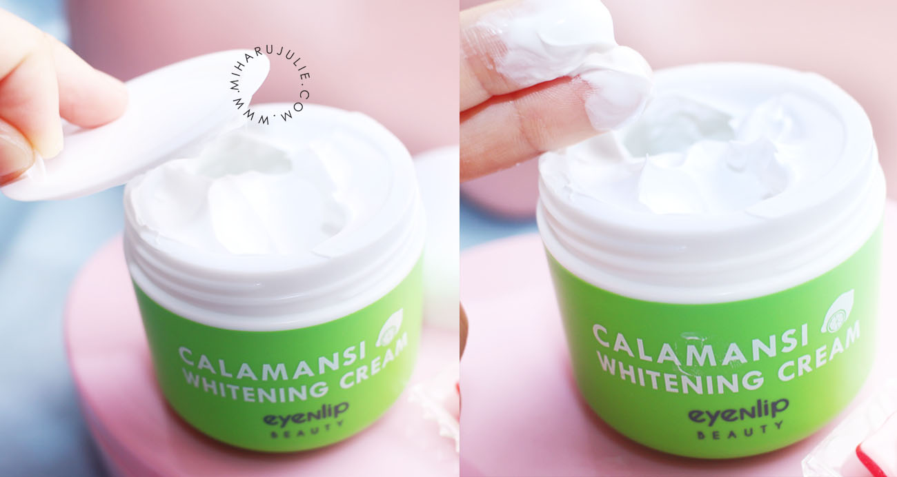 eyeNlip Calamansi Whitening Cream review