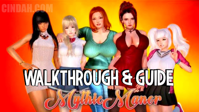 Mythic manor walkthrough dan guide