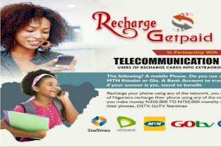 recharge and get paid business