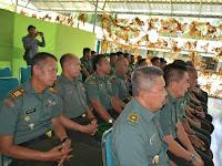 Latihan  Posko I Kodim 1423/Soppeng  Ta. 2019, Resmi di Tutup