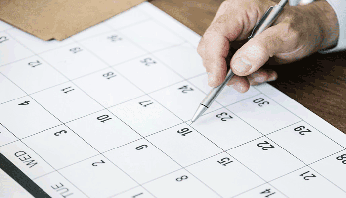 Jadwal Kegiatan Sehari-hari