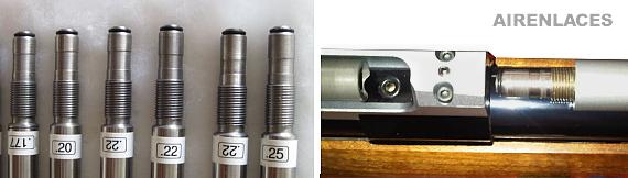 Air Rifle Interchangeable barrels