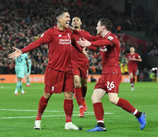 Liverpool humiliates Arsenal 5 : 1 to end the year in style