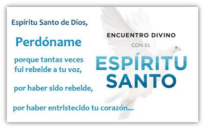 Oración Pidiendo Perdón al Espíritu Santo - Cuando Todo Sale Mal